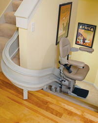 indy curve stair lift
