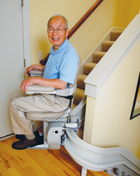 Power chair lift power chair lift for stairs power chair for Motorized stair chair lift