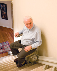 inclined stair lift